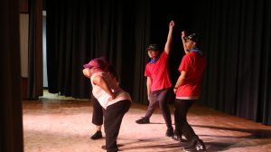 PAL Program participants performing in a dance competition